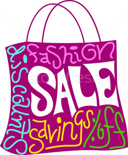 Shopping Bag Stock photo © lenm