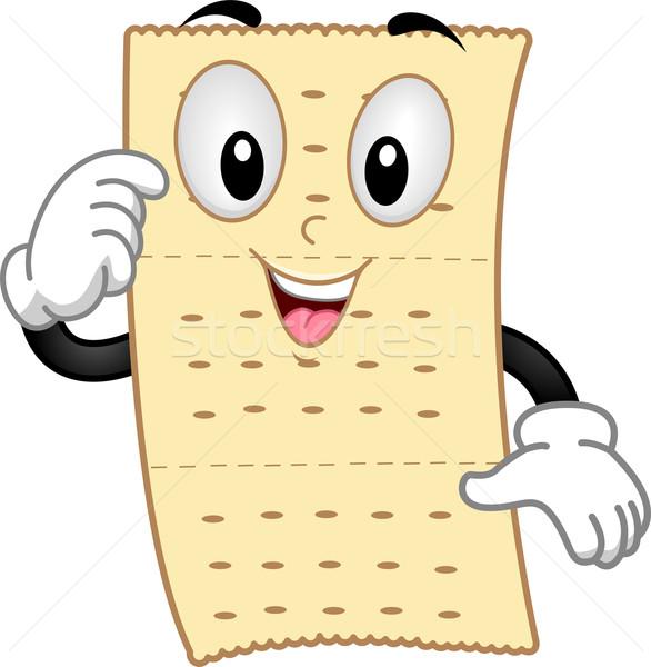 Cracker Mascot Stock photo © lenm