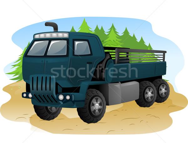 Military Truck Stock photo © lenm