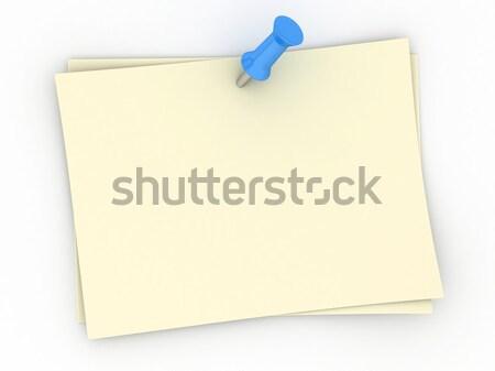 Notes Stock photo © lenm