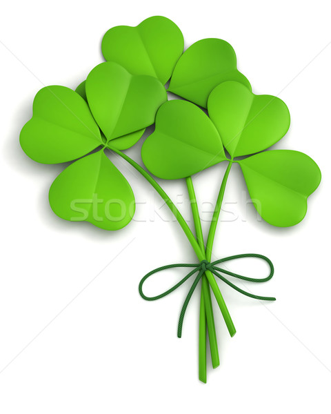 Stock photo: Shamrocks