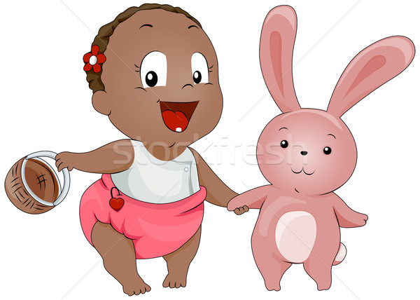 Stock photo: Baby Easter