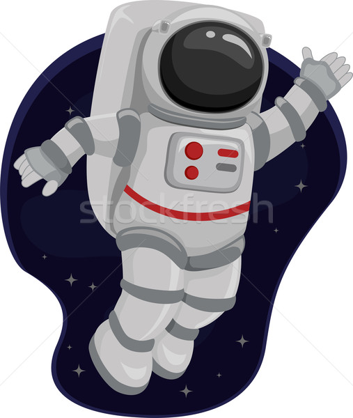 astronauts in space clipart - photo #11