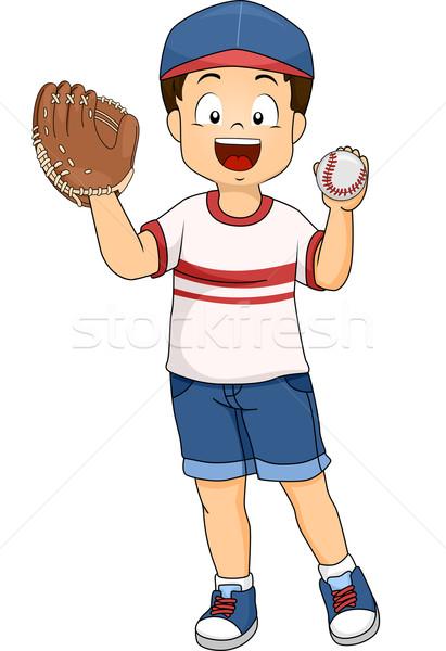 Baseball Boy Stock photo © lenm