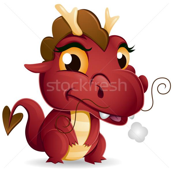 Baby Dragon Stock photo © lenm