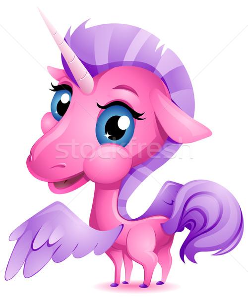 Baby Unicorn Stock photo © lenm
