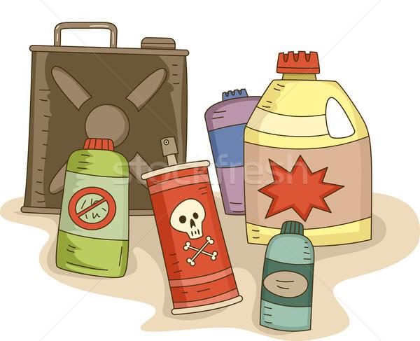 Pesticides Stock photo © lenm