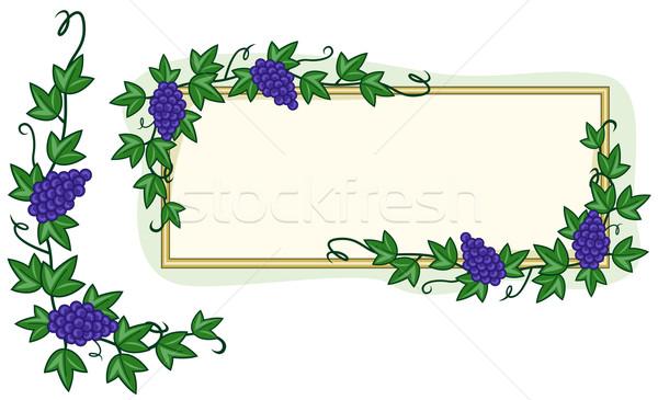 Garden Frame Stock photo © lenm