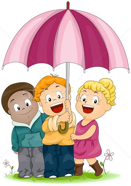 Umbrella Stock photo © lenm