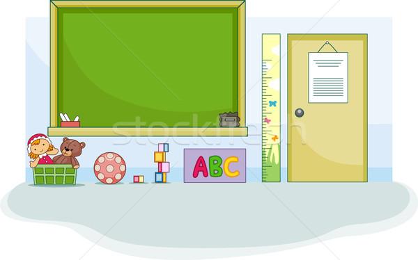 Preschool Classroom Stock photo © lenm
