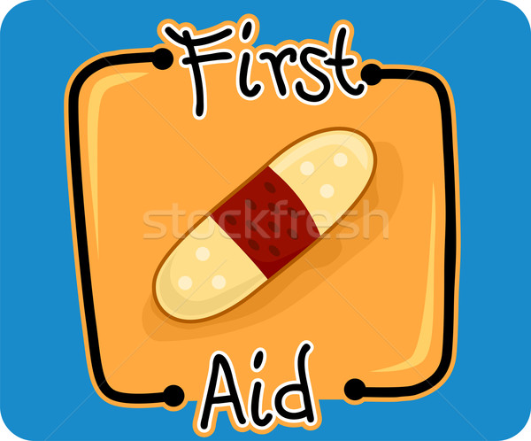 First Aid Stock photo © lenm