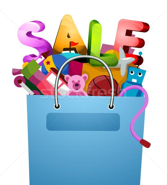 Toys Sale Stock photo © lenm
