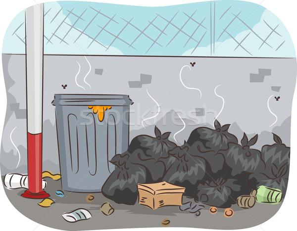 Unsorted Trash Stock photo © lenm
