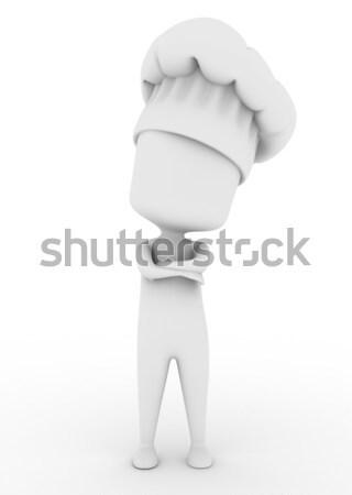 Chef Stock photo © lenm