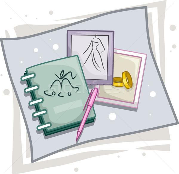 Wedding Planner Stock photo © lenm