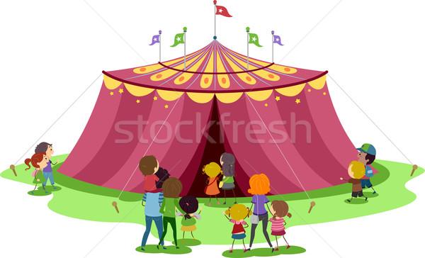 Circus Tent Stock photo © lenm