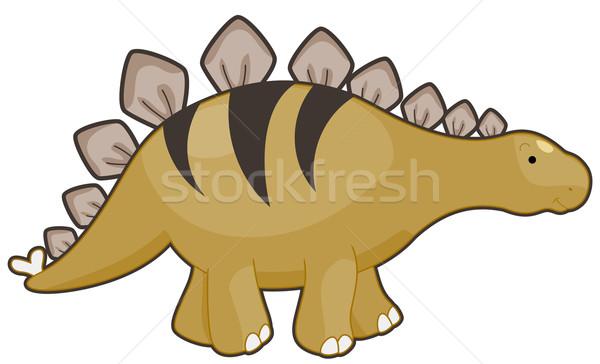 Stegosaurus Stock photo © lenm