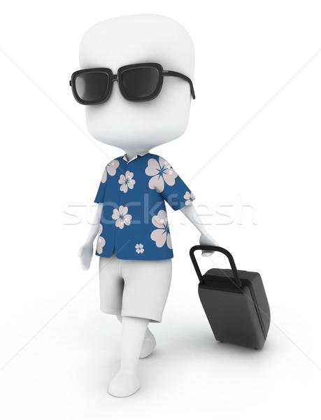 Summer Travel Stock photo © lenm