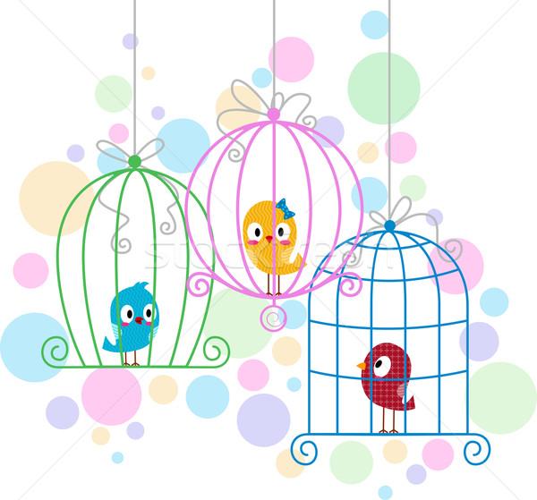 Love Birds Stock photo © lenm