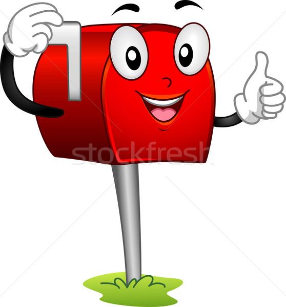 Mailbox Mascot Stock photo © lenm