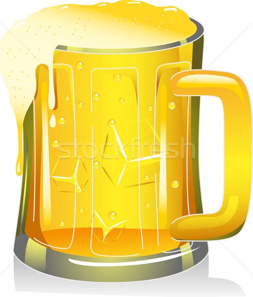 Beer Mug Stock photo © lenm