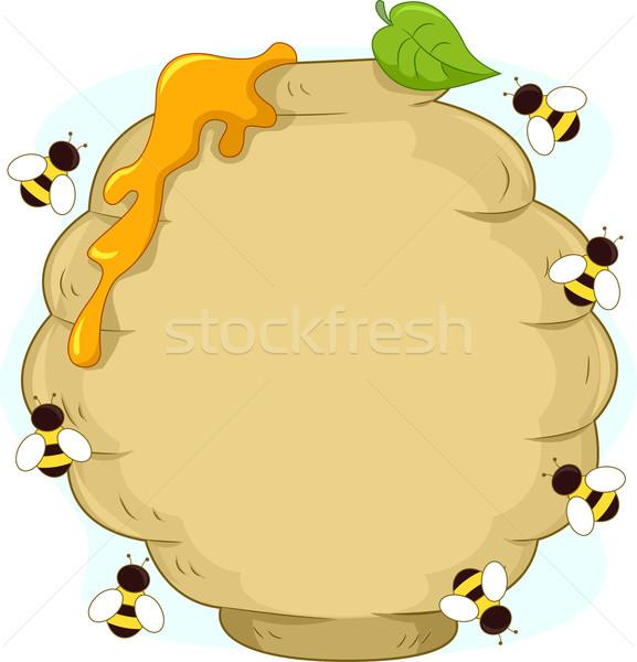 Beehive Stock photo © lenm