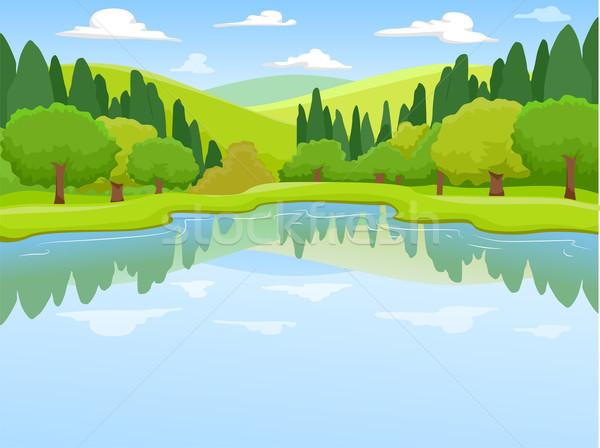 Lake Scenery Stock photo © lenm