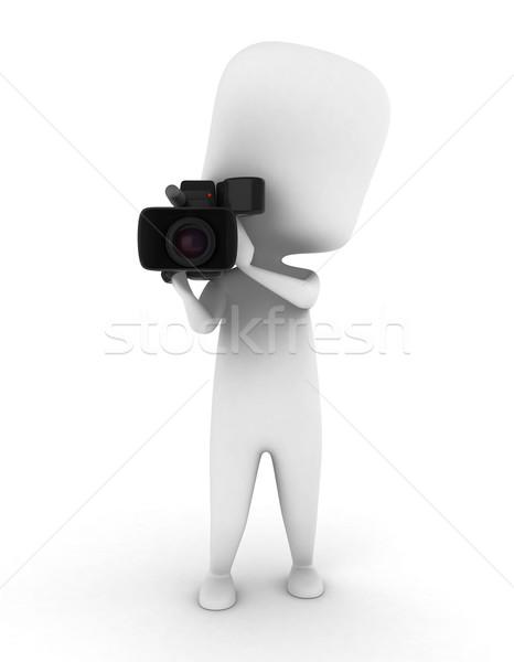 Videographer Stock photo © lenm
