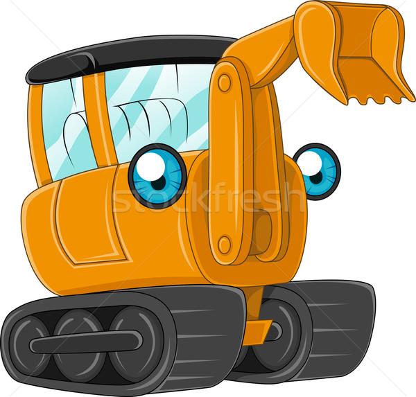 Excavator Stock photo © lenm