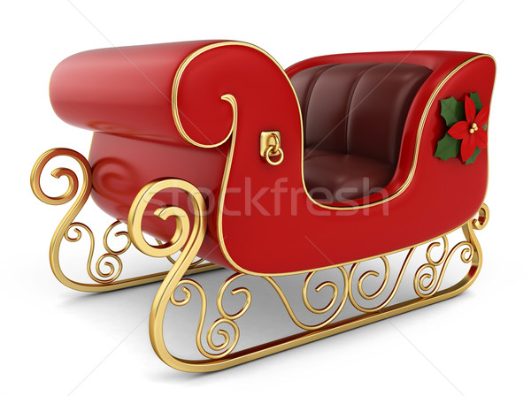 Christmas Sleigh Stock photo © lenm