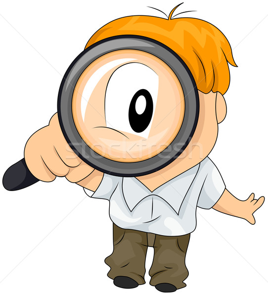 Magnifying Glass Stock photo © lenm