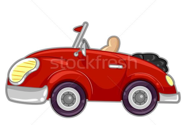 Convertible Car Stock photo © lenm