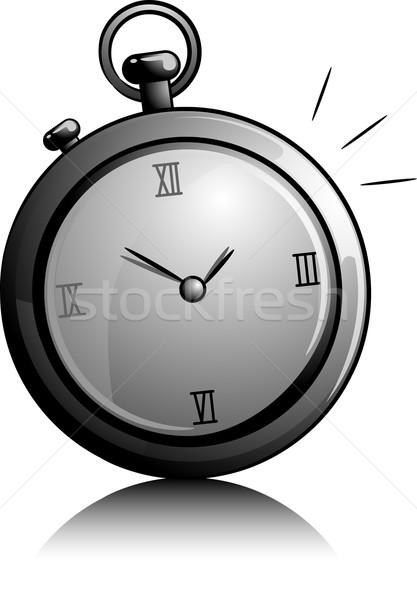 Stopwatch Icon Stock photo © lenm