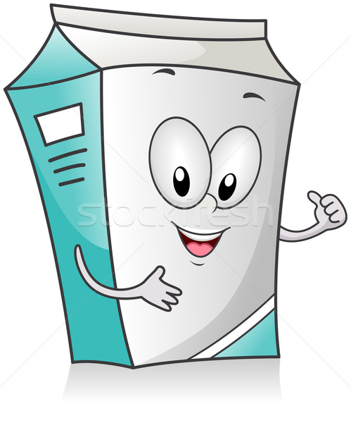 Milk Carton Stock photo © lenm