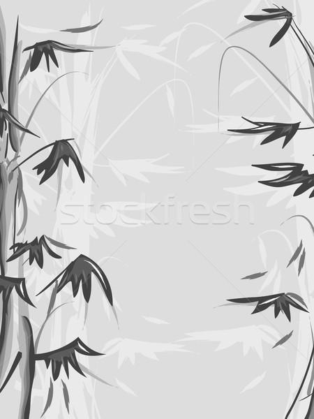 Bamboo Stock photo © lenm