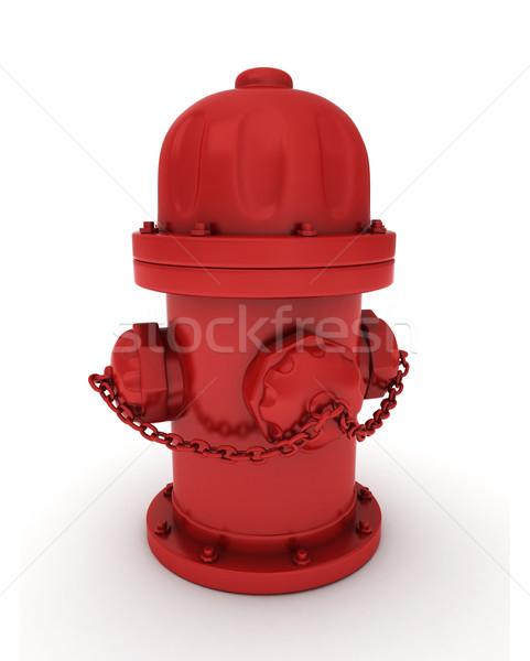 Fire Hydrant Stock photo © lenm
