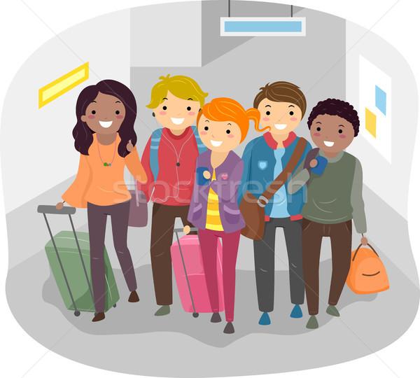 Group Travel Stock photo © lenm