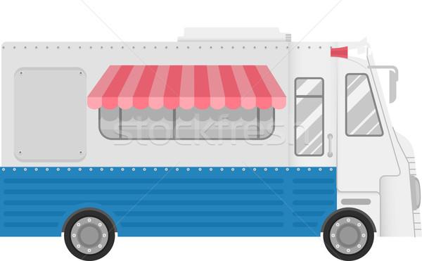 Food Truck Stock photo © lenm