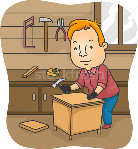 DIY Furniture Stock photo © lenm