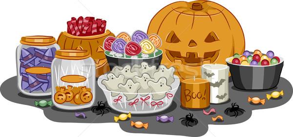 Halloween Treats Stock photo © lenm