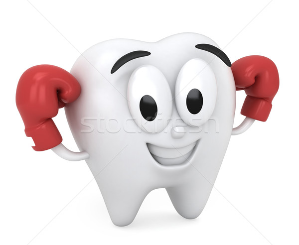 Strong Tooth Stock photo © lenm