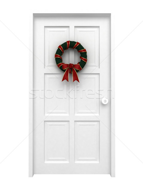 Christmas Wreath Stock photo © lenm