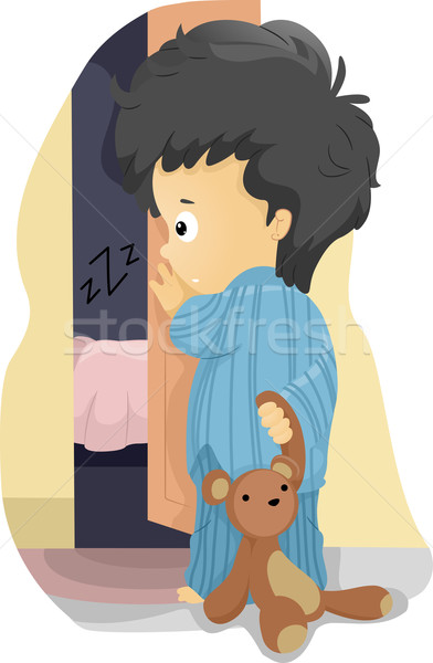 Co-Sleeping Stock photo © lenm