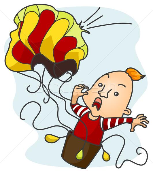 Air Balloon Popping Stock photo © lenm