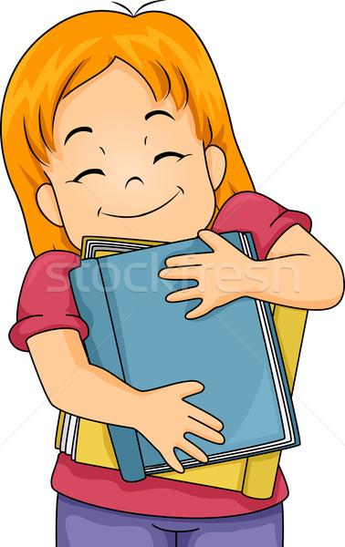 Book Lover Girl Stock photo © lenm