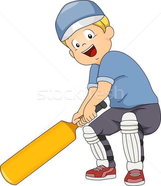 Cricket Batter Stock photo © lenm