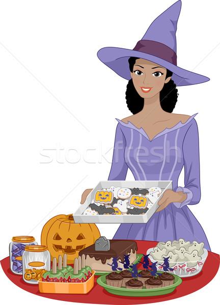 Halloween Food Stock photo © lenm