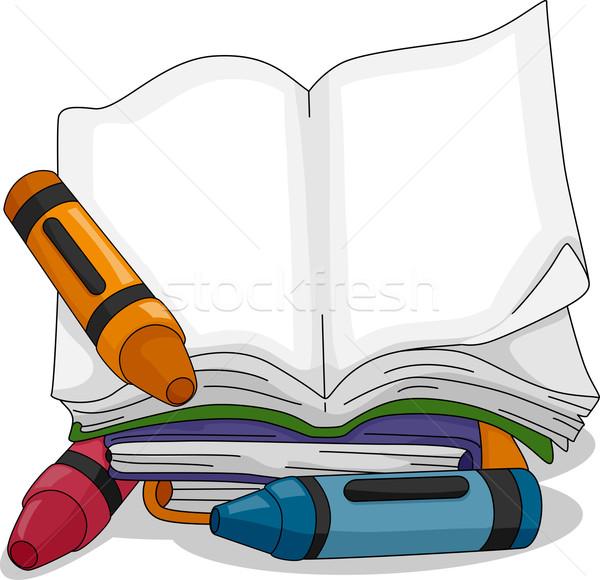 Coloring Book Stock photo © lenm