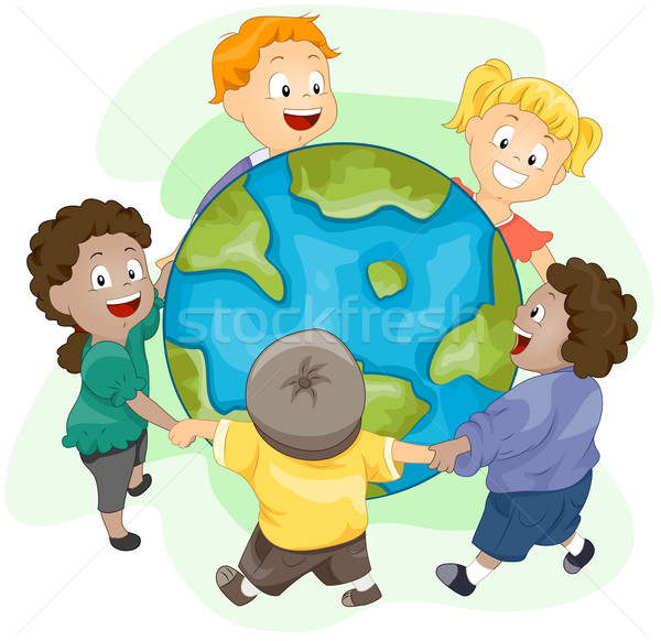 Earth Stock photo © lenm