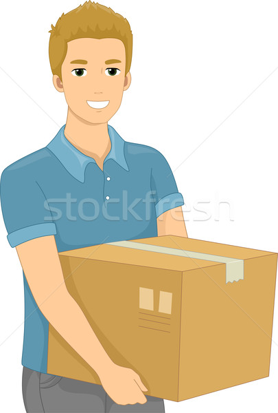 Package Box Stock photo © lenm